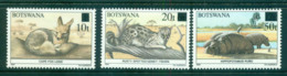 Botswana 1990 Surcharge Opt On Wildlife MLH Lot55344 - Botswana (1966-...)