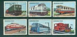 Burkina Faso 1985 Trains CTO Lot51954 - Burkina Faso (1984-...)