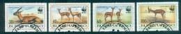 Burkina Faso 1993 WWF Red-Fronted Gazelle FU - Burkina Faso (1984-...)