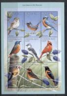 Burkina Faso 1998 Birds Of Paradise 450f MS - Burkina Faso (1984-...)