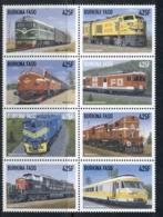 Burkina Faso 1998 Trains Blk8 MUH - Burkina Faso (1984-...)