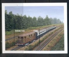 Burkina Faso 1998 Trains MS MUH - Burkina Faso (1984-...)