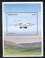 Burkina Faso 1999 World Of Aviation MS MUH - Burkina Faso (1984-...)
