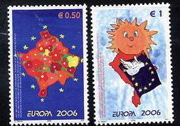 KOSOVO 2006  Europa: Integration MNH / **.  Michel 43-44 - Kosovo