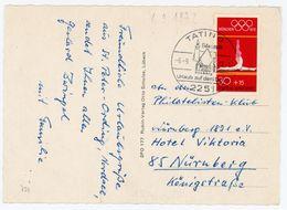 """""""TATING Eiderstadt"""" Sonderstempel 1972 Nr. 721 EF  Postkarte - BRD"""