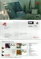 COMMUNICATION SERVICE PHILATÉLIQUE PORTUGAL ÉMISSION DES TIMBRES - BUTTERFLIES - ELECTRICIDADE - Mariposas