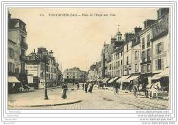 77 FONTAINEBLEAU - Place De L'Etape Aux Vins - Fontainebleau