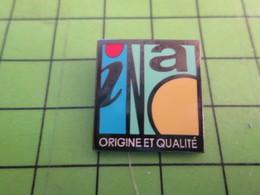 818A Pin's Pins / Beau Et Rare : Thème ADMINISTRATION : INAO APELLATIONS D'ORINGINE Par ALC CREATIONS - Administrations