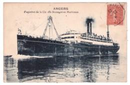 ANGERS - Paquebot De La Cie Des Messageries Maritimes - Steamers