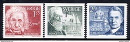 SWEDEN 1981 Nobel Prizewinners MNH / **.  Michel 1187-88 - Unused Stamps