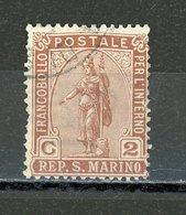 SAINT MARIN :  N° Yvert 32 Obli. - Saint-Marin
