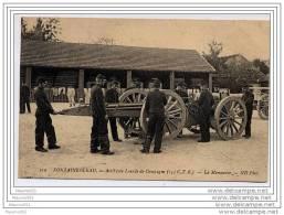 CPA 77 - FONTAINEBLEAU - Artillerie Lourde De Campagne La Manoeuvre - Fontainebleau