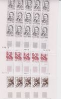 Iceland 1979 Famous Persons 3v Complete Sheetlets (unfolded) ** Mnh (F7484) - Ungebraucht