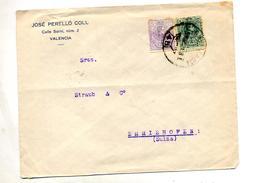 Lettre Cachet Valencia ? Sur Roi - Machine Stamps (ATM)