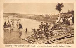 P-jmt2-18-5222 :  MISSION D'EXTREME-NORD CANADIEN. A ATHABASKA. - Territoires Du Nord-Ouest