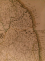 1776 Mapa Del Principado De Cataluña: Comprehende Los Corregimientos De Barcelona, Cervera, Gerona, Lerida, Manresa... - Mapas Geográficas
