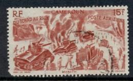 Cameroun 1946 Chad To Rhine 15f FU - Cameroon (1960-...)