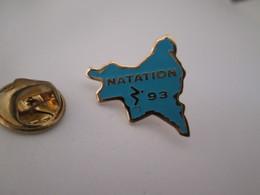 PIN'S    Natation 93 - Swimming