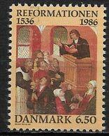 Denmark 1986. Scott #830 (M) Protestant Reformation In Denmark * - Danemark
