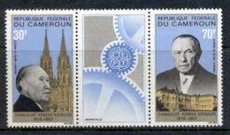 Cameroun 1967 Konrad Adenauer Pr + Label MUH - Cameroon (1960-...)