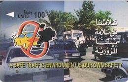 Bahrain Magnetic (GPT) Phone Card, Safe Traffic (BAHN) - Bahrain