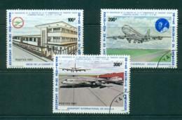 Cameroun 1981 Cameroun Airlines 10th Anniv CTO Lot31393 - Cameroon (1960-...)