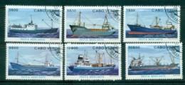 Cape Verde 1980 Ships CTO Lot31453 - Cape Verde