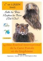 Illustrateurs - Illustrateur Géo Thiercy - Enghien Les Bains - Animaux - Aigles - Tigres - Autographe - Signature - Illustratoren & Fotografen