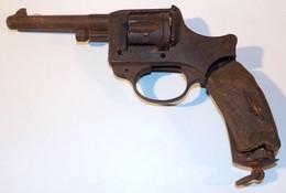 Epave De Révolver Modèle 1892 D'officier Français WW1 14 18 - 1914-18