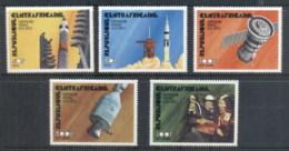 Central African Republic 1975 Apollo-Soyuz Joint Russia/USA Space Project MUH - Central African Republic