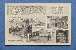 Cartolina Poggio Nativo - Varie Vedute - 1937 - Rieti