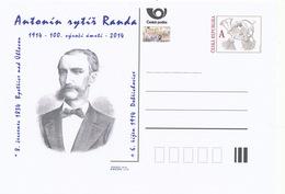 Rep. Ceca / Cart. Postali (Pre2014/44) Antonin Antonin Cavaliere Randa (1834-1914) Avvocato Ceco - Professioni