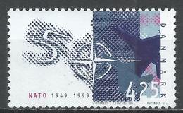 Denmark 1999. Scott #1149 (U) NATO, 50th Anniversary * - Danemark