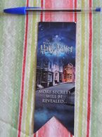 Marque-page Harry Potter (le Film) – Anglais - 2013 - Marque-Pages