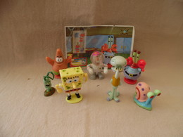 Kinder Série Bob L'éponge + BPZ S 201 à 207 - Figuren