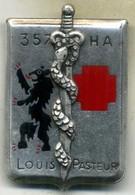Insigne CHA-HIA,hopitaux Des Armées,louis Pasteur___drago - Services Médicaux