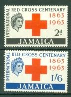 Jamaica: 1963   Red Cross    MH - Jamaica (1962-...)