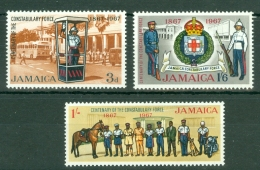 Jamaica: 1967   Centenary Of The Constabulary Force  MH - Jamaica (1962-...)