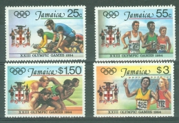 Jamaica: 1984   Olympic Games, Los Angeles    MNH - Jamaica (1962-...)