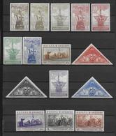 ESPAGNE - 1930 - YT 442/456 **/* (CHARNIERE QUASI-INVISIBLE SUR GROSSES VALEURS) - COTE YVERT = 115 / 200 EURO - - Nuevos