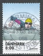 Denmark 2016. Scott #1739 (U) Sport, Swimmer In Christiansborg Rundt Swimming Race * - Oblitérés