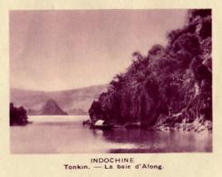 Chromo, Image, Vignette : Indochine, Tonkin, La Baie D'Along (6 Cm Sur 7 Cm) - Unclassified