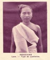 Chromo, Image, Vignette : Indochine, Laos, Type De Laotienne (6 Cm Sur 7 Cm) - Unclassified