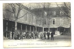 VILLENEUVE Sur Lot - Blessés Guerre 14/18 - Hôpital Des Dames De France N°106 -  Vente Directe - Villeneuve Sur Lot