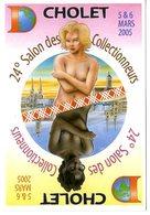 CHOLET  24° SALON DES COLLECTIONNEURS MARS 2005  -  ILLUSTRATION BERNARD VEYRI - Veyri, Bernard