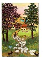 S. Damez Peinture Naïve Scans Recto/verso - Peintures & Tableaux
