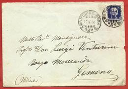 LETTERA VG ITALIA - ORDINARIA - Imperiale Isolato - 10 X 15 - ANN. 1931 AMB. TORINO MILANO - 1900-44 Vittorio Emanuele III