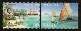 NIUAFO'OU ISLAND / TONGA 1999 - EXPLORERS DISCOVERER / Dutch Sailor Jakob Le MAIRE - 2v Mi 350-351 MNH ** Cv€6,50 V380 - Tonga (1970-...)