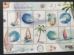M ++ CARIBISCH NEDERLAND BONAIRE 2018 WINDSURFING  ++ MNH POSTFRIS - Curaçao, Antilles Neérlandaises, Aruba
