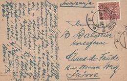 Pologne Carte Postale Stanislawow Pour La Suissee 1931 - 1919-1939 Republic
